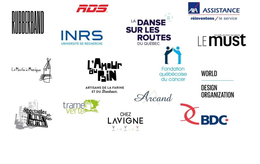 Liste des logos nos clients